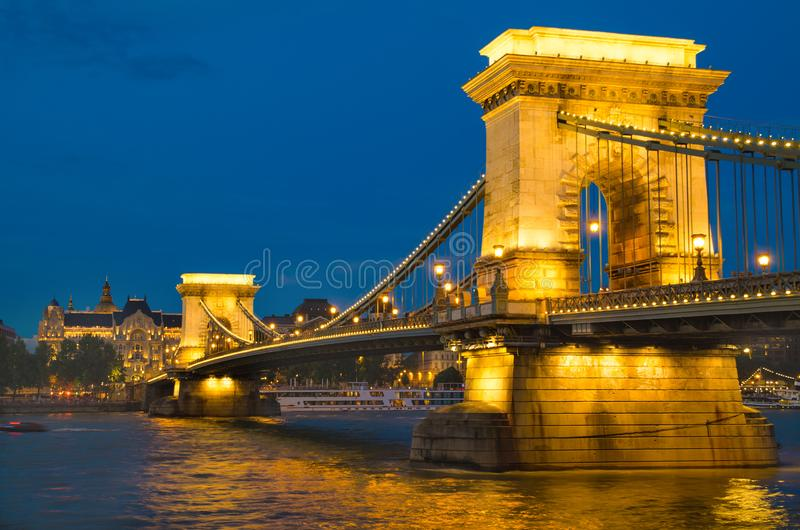 Puente de Budapest fotografía de archivo libre de regalías