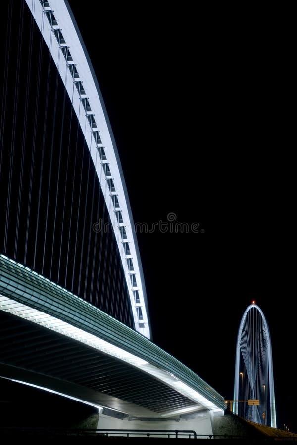 Puente de Calatrava foto de archivo libre de regalías