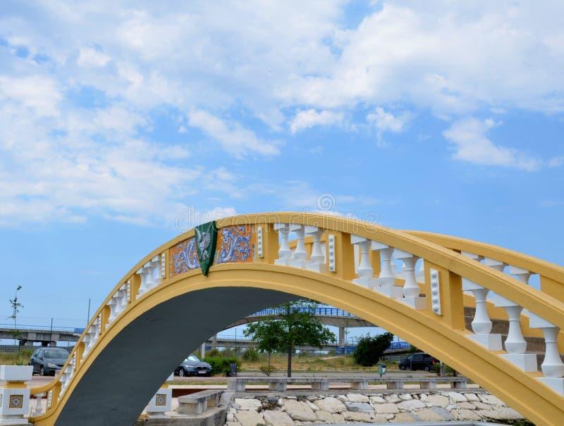 Puente de Carcavelos, Aveiro, Portugal imagenes de archivo