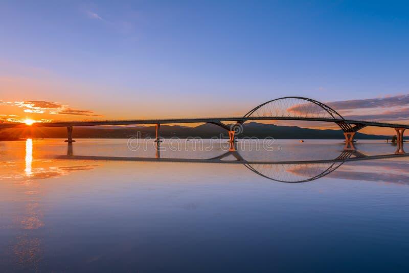 Puente de Champlain fotografía de archivo libre de regalías