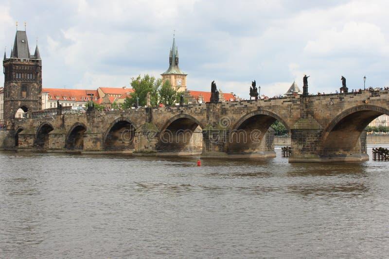 Puente de Charles imagen de archivo