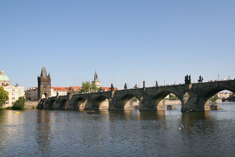 Puente de Charles fotografía de archivo libre de regalías