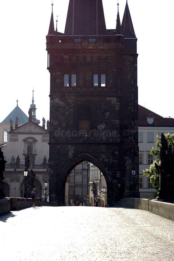 Puente de Charles foto de archivo