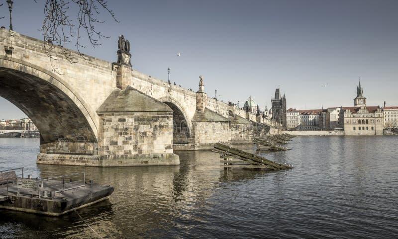 Puente de Charles en Praga, República Checa fotografía de archivo libre de regalías