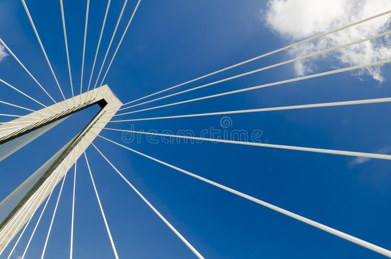Puente de Charleston foto de archivo