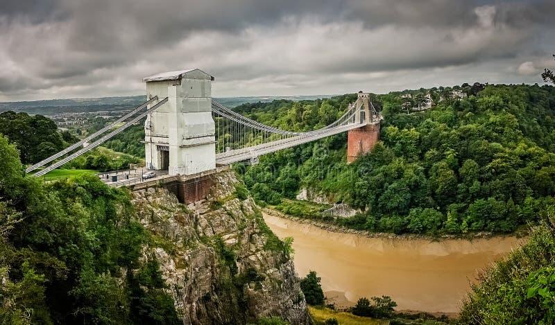 Puente de Clifton fotografía de archivo