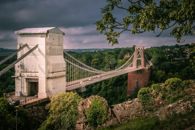 Puente de Clifton foto de archivo