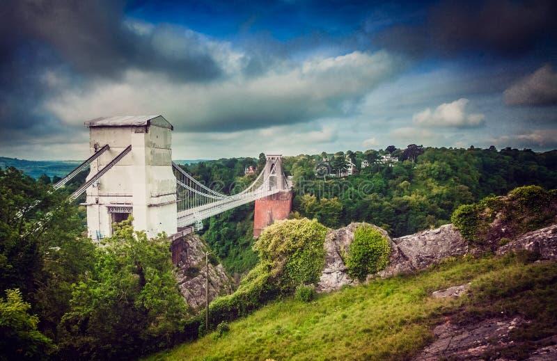 Puente de Clifton imagen de archivo