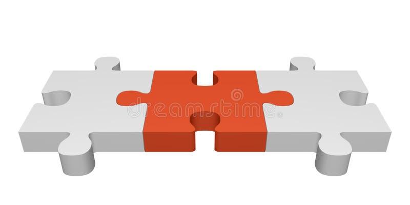 Puente de conexión stock de ilustración