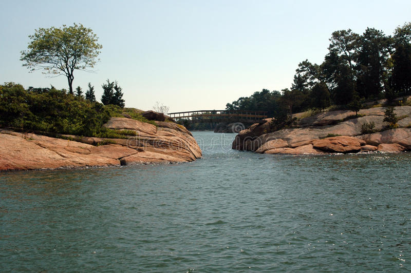 Puente de Connecticut imagen de archivo libre de regalías