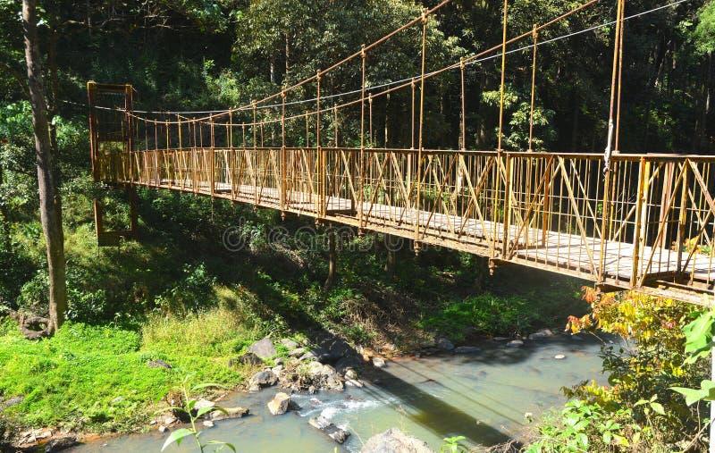 Puente de Coorg imagen de archivo libre de regalías