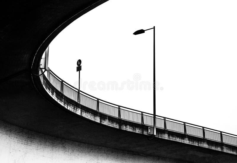 Puente de debajo fotos de archivo