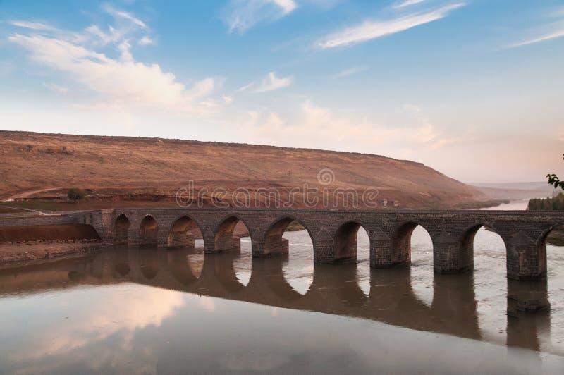 Puente de Dicle imagenes de archivo