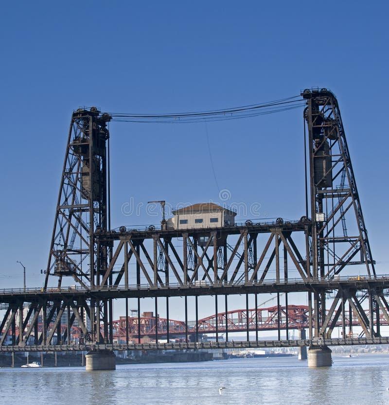 Puente de drenaje fotos de archivo