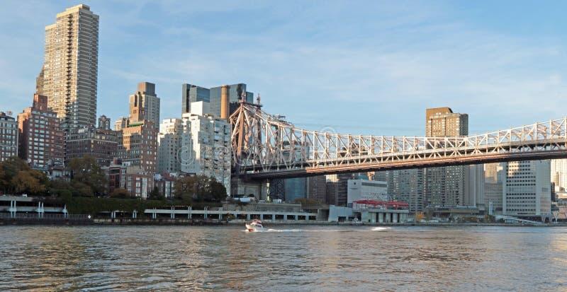 Puente de Ed Koch Queensboro fotografía de archivo