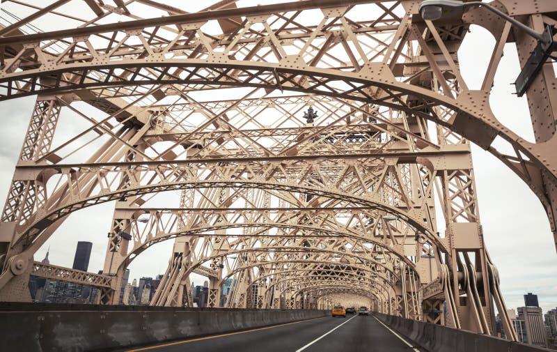 Puente de Ed Koch Queensboro foto de archivo libre de regalías