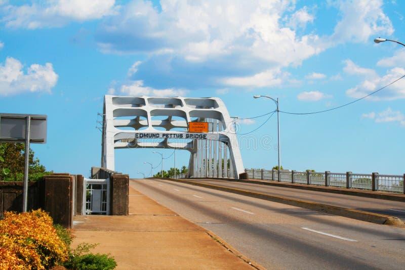 Puente de Edmundo Pettus foto de archivo libre de regalías