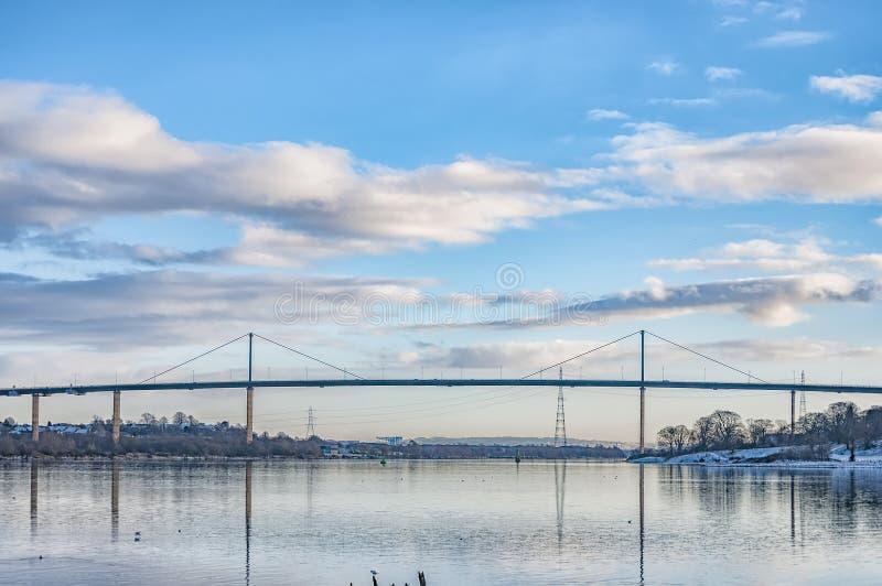 Puente de Erskine fotografía de archivo