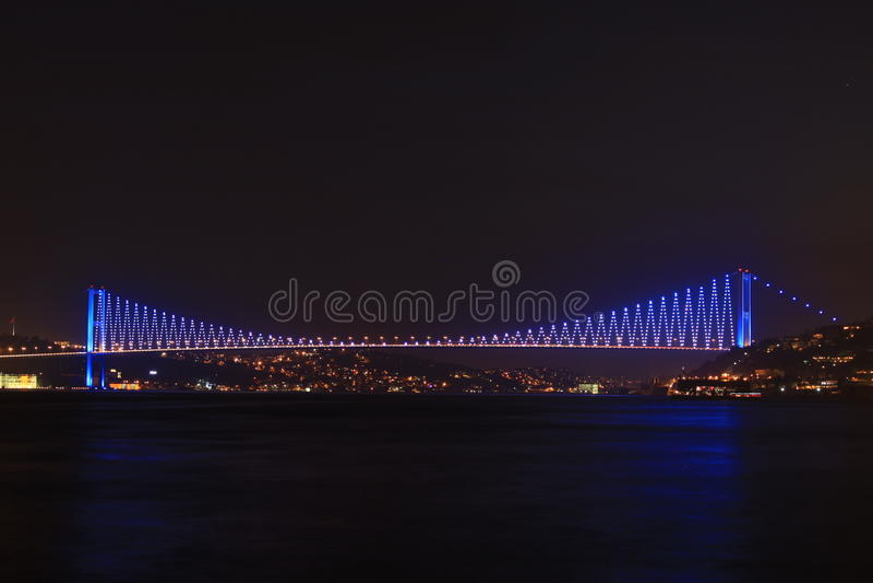 Puente de Estambul Bosphorus imágenes de archivo libres de regalías