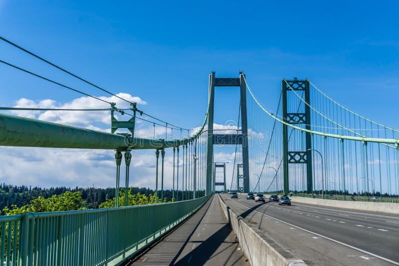 Puente de estrechos de Tacoma 6 imagenes de archivo