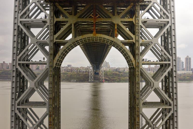 Puente de George Washington fotografía de archivo libre de regalías