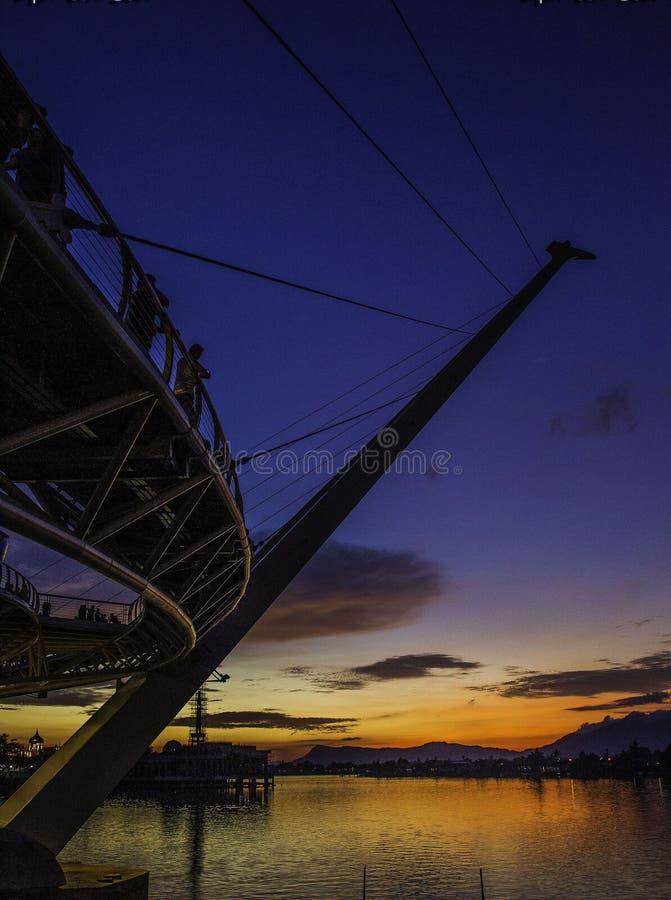 puente de Hana del darul imagenes de archivo