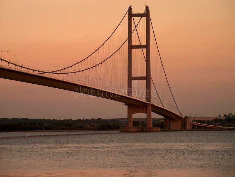 Puente de Humber foto de archivo