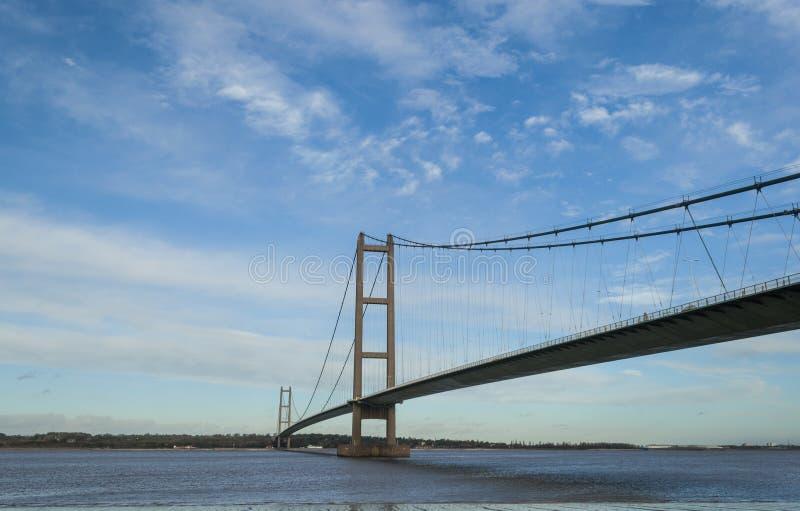 Puente de Humber imagen de archivo