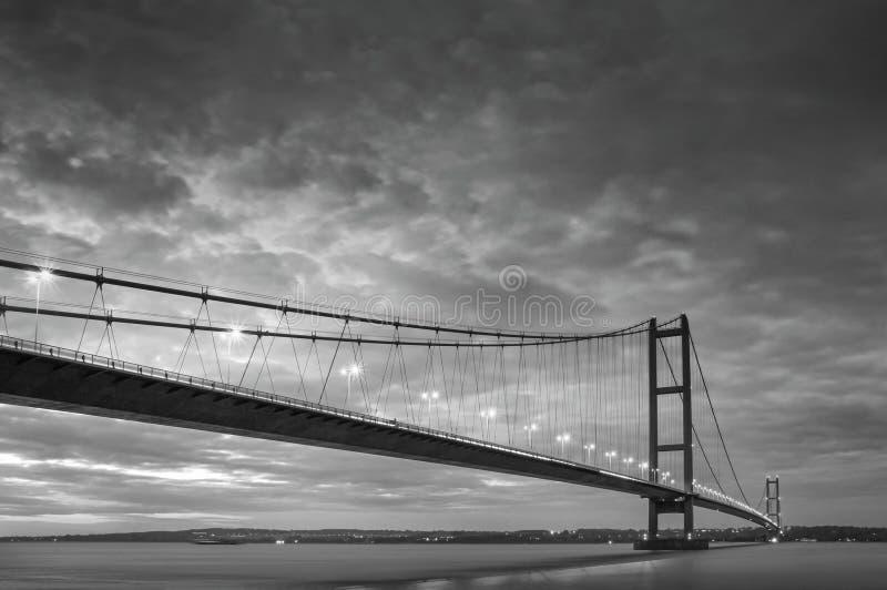 Puente de Humber imágenes de archivo libres de regalías