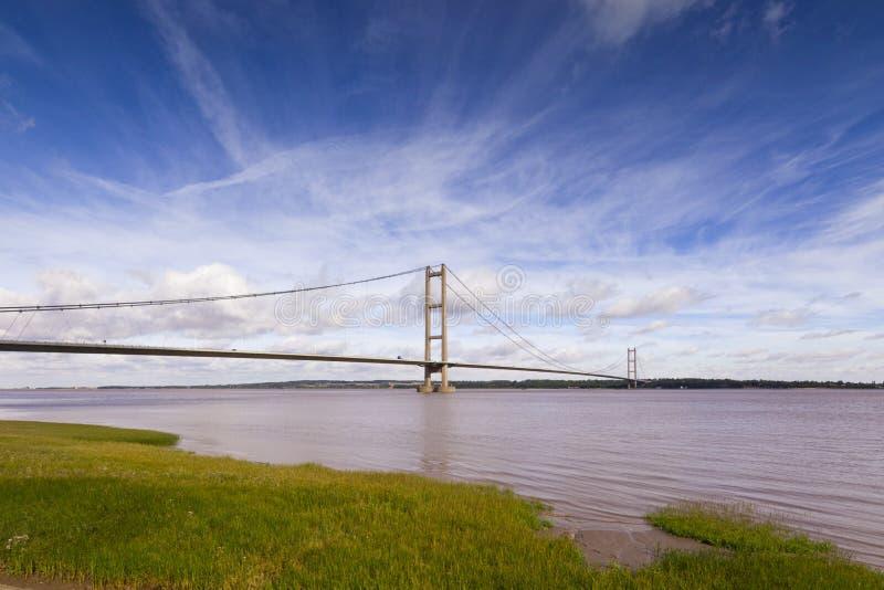 Puente de Humber Humberside Reino Unido imagen de archivo libre de regalías