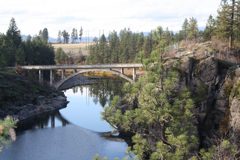 Puente de Idaho imágenes de archivo libres de regalías