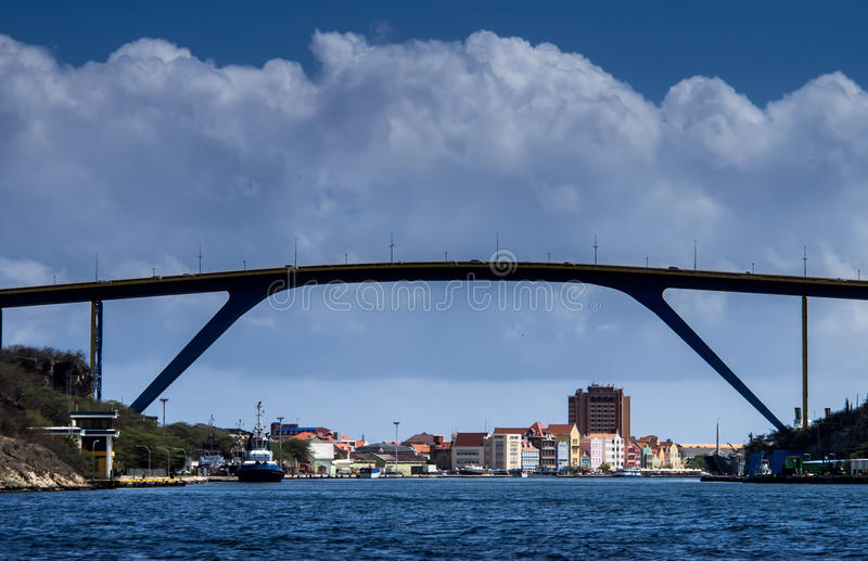 Puente de Juliianna imagen de archivo