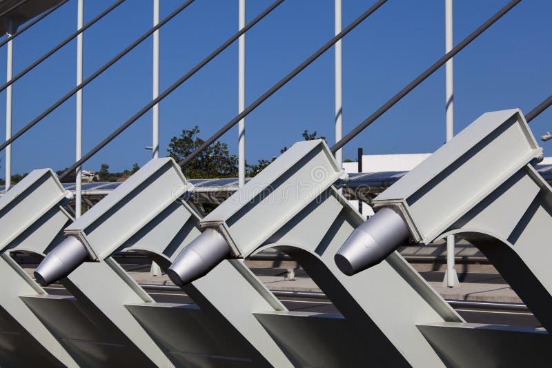 Puente de Kaiku, Barakaldo foto de archivo libre de regalías