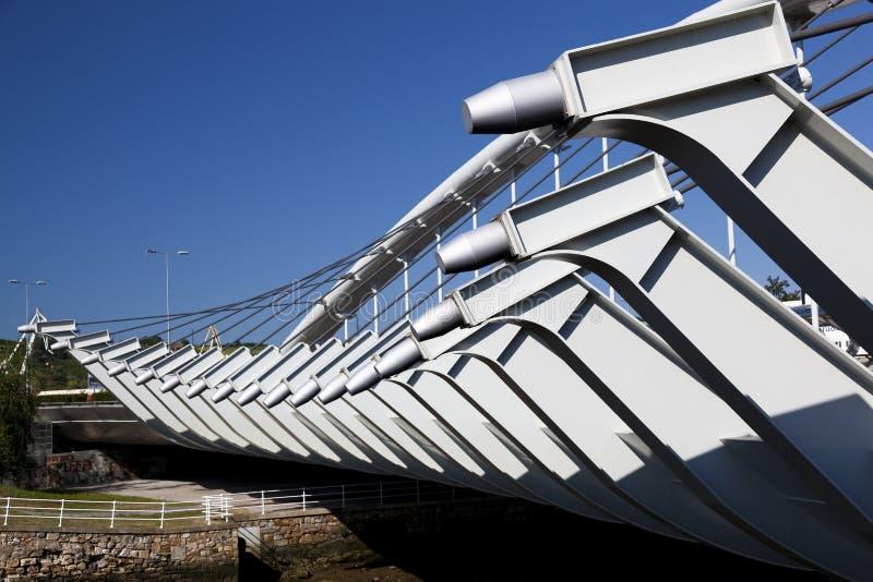 Puente de Kaiku, Barakaldo imagenes de archivo
