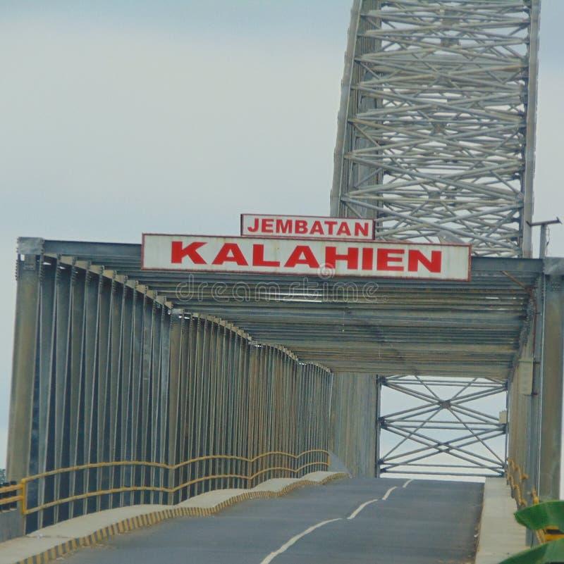 Puente de Kalahien fotos de archivo