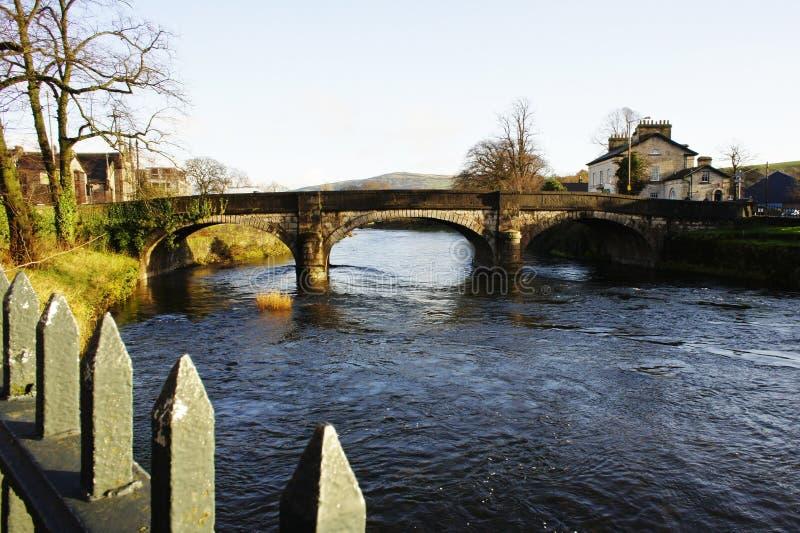Puente de Kent Miller del río en Kendal fotografía de archivo libre de regalías