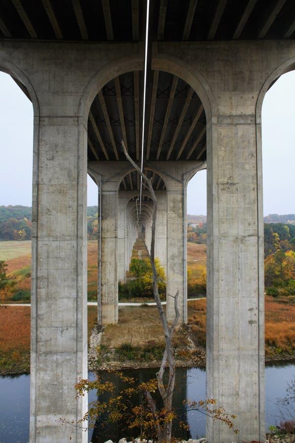 Puente de la autopista 80 fotos de archivo