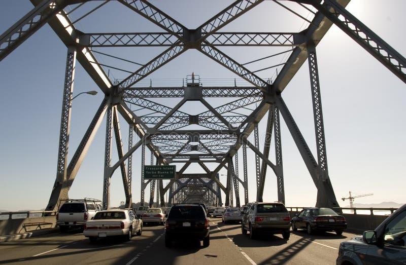 Puente de la bahía fotos de archivo