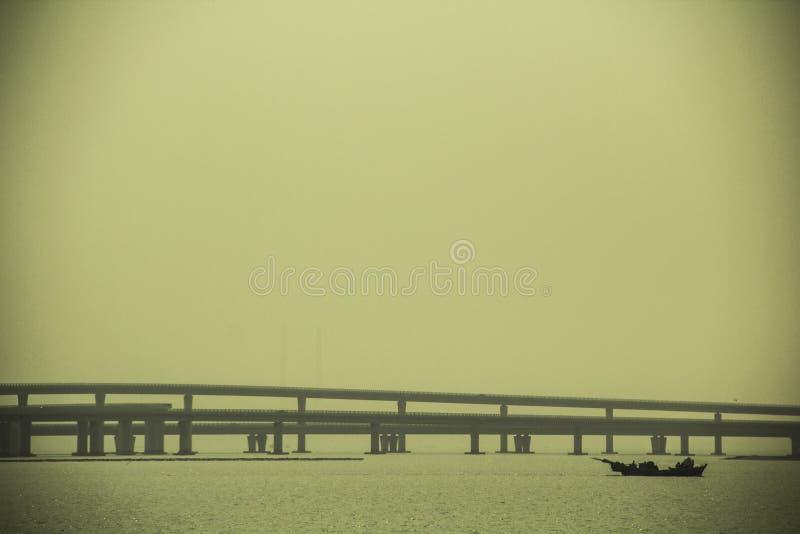 Puente de la bahía foto de archivo