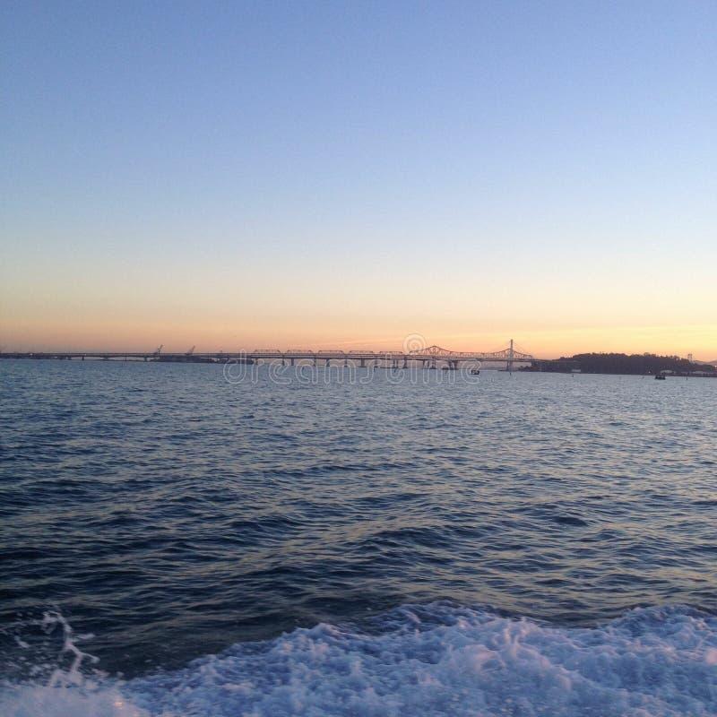 Puente de la bahía - San Francisco imagen de archivo