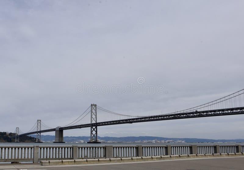 Puente de la bahía de San Francisco-Oakland foto de archivo libre de regalías