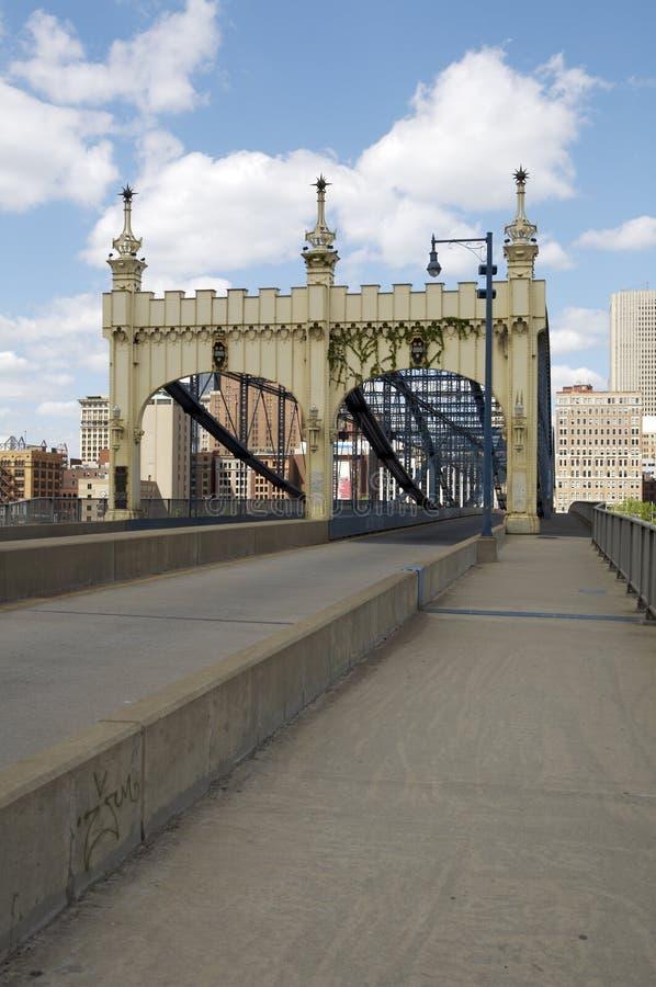 Puente de la calle de Smithfield imagen de archivo libre de regalías