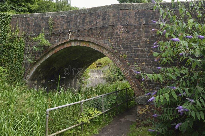 Puente de la cerradura de Bourne foto de archivo