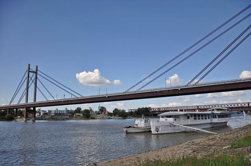 Puente de la ciudad imágenes de archivo libres de regalías