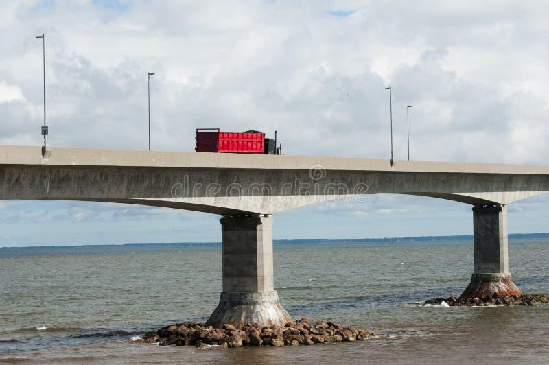 Puente de la confederación - Canadá imagen de archivo libre de regalías