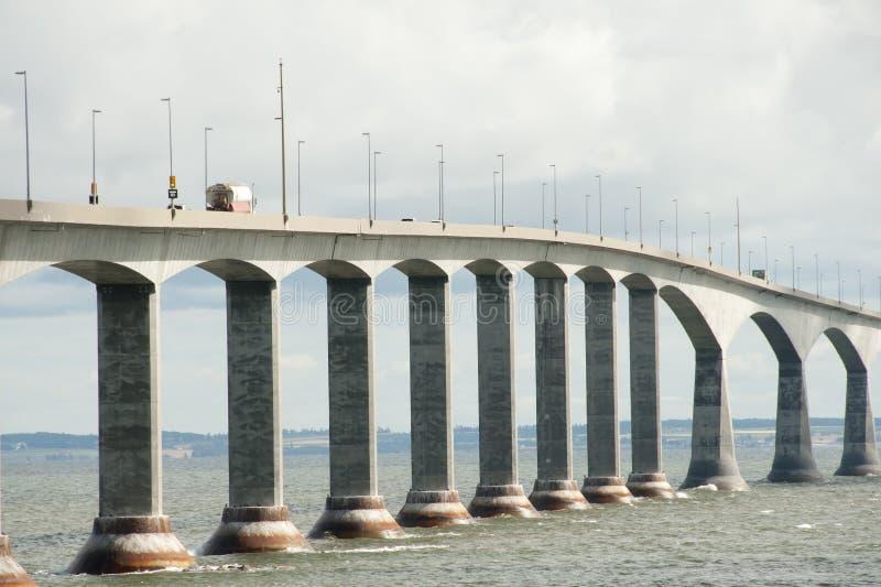 Puente de la confederación - Canadá imágenes de archivo libres de regalías