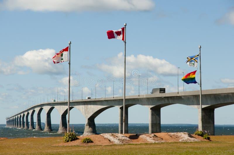 Puente de la confederación - Canadá fotografía de archivo libre de regalías