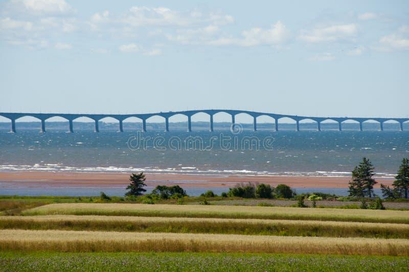 Puente de la confederación - Canadá imagen de archivo