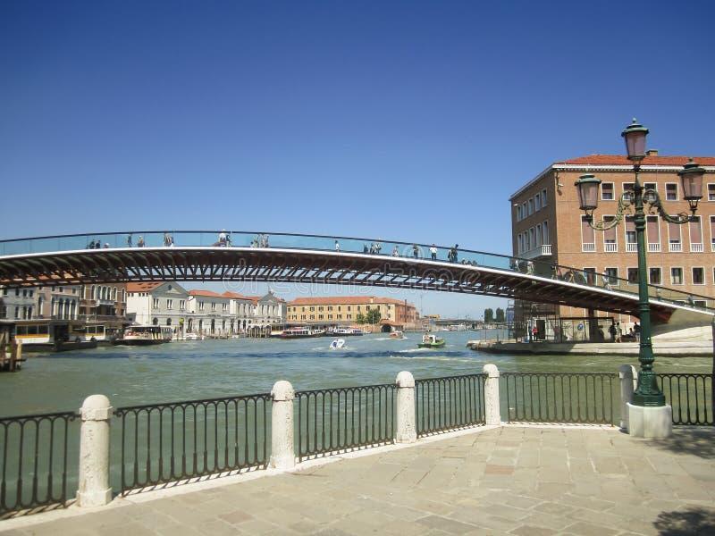 Puente de la constitución, Venecia - Italia imágenes de archivo libres de regalías