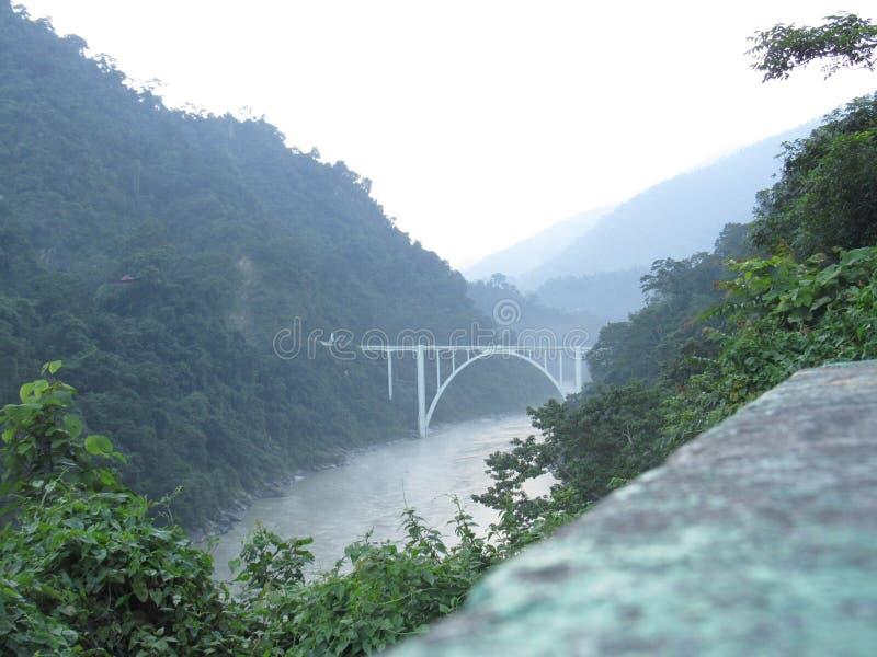 Puente de la coronación fotografía de archivo